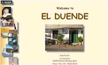 El Duende, Laden, Yoga, Ferienvermietung in Andalusien