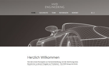 Webdesign-Portfolio - HVD Engineering