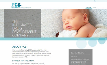 Webdesign-Portfolio - PreClinical Safety PCS